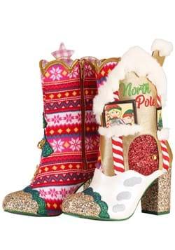"Irregular Choice ""North Pole"" Christmas Platform H"