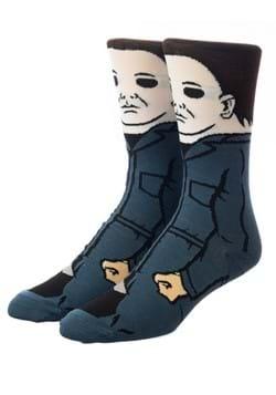 Halloween Mike Meyers 360 Character Crew Sock