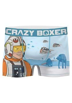 Crazy Boxers Star Wars Hoth Mens Boxer Brief