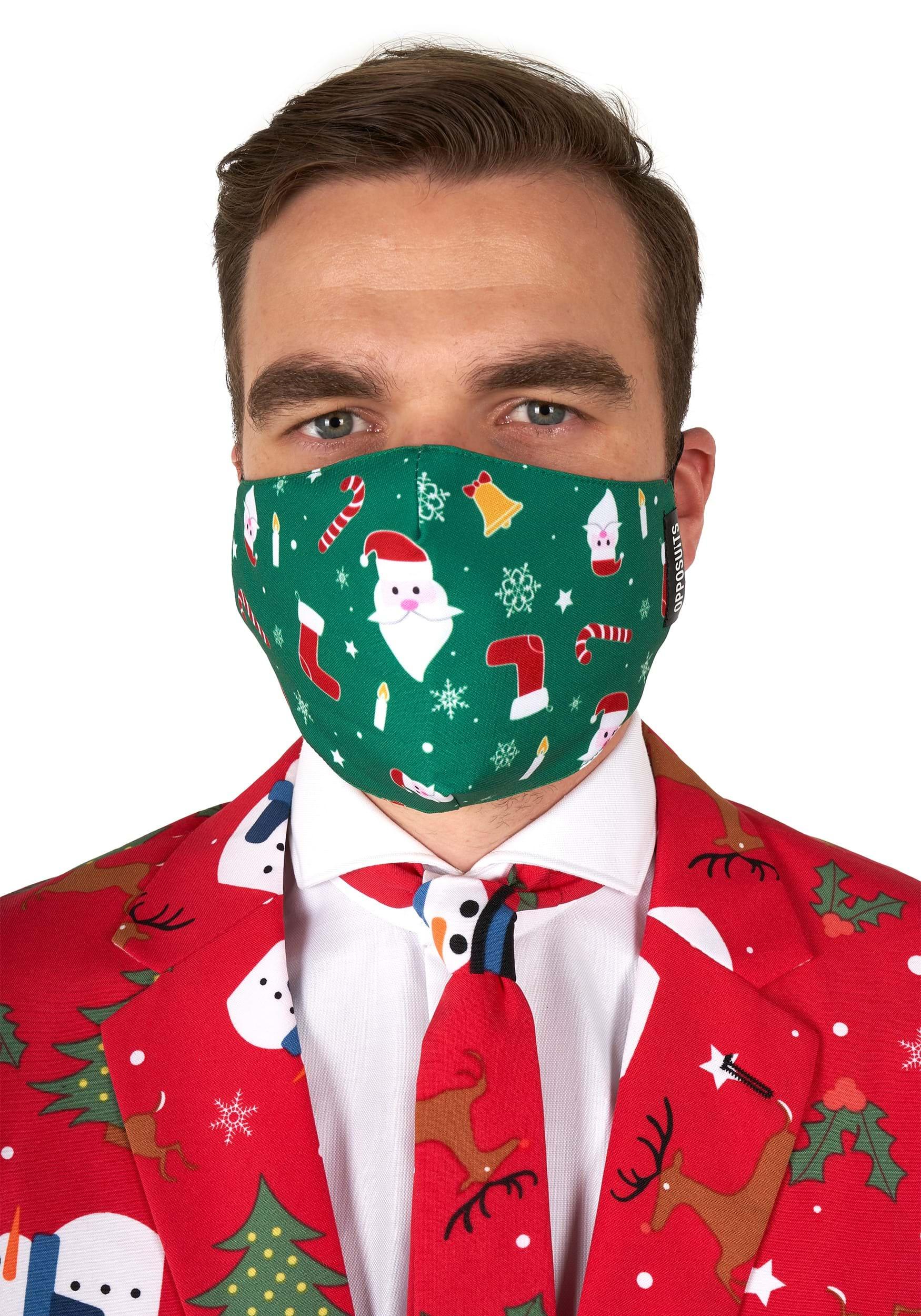 Opposuit Santaboss Face Mask for Adults