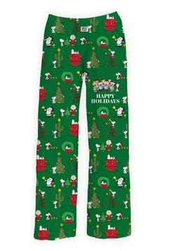 Happy Holiday Snoopy Sleep Pants