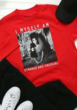 Adult Beetlejuice Lydia Strange and Unusual T-Shirt