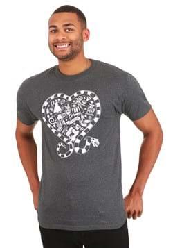 Beetlejuice Sandworm Heart T-Shirt for Adult