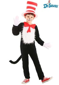 Cat in the Hat Child Costume