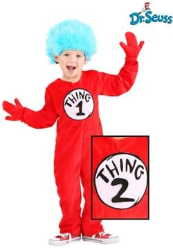 Toddler Thing 1&2 Deluxe Costume