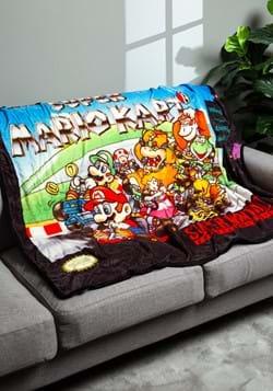 Super Mario Kart Digital Fleece Throw