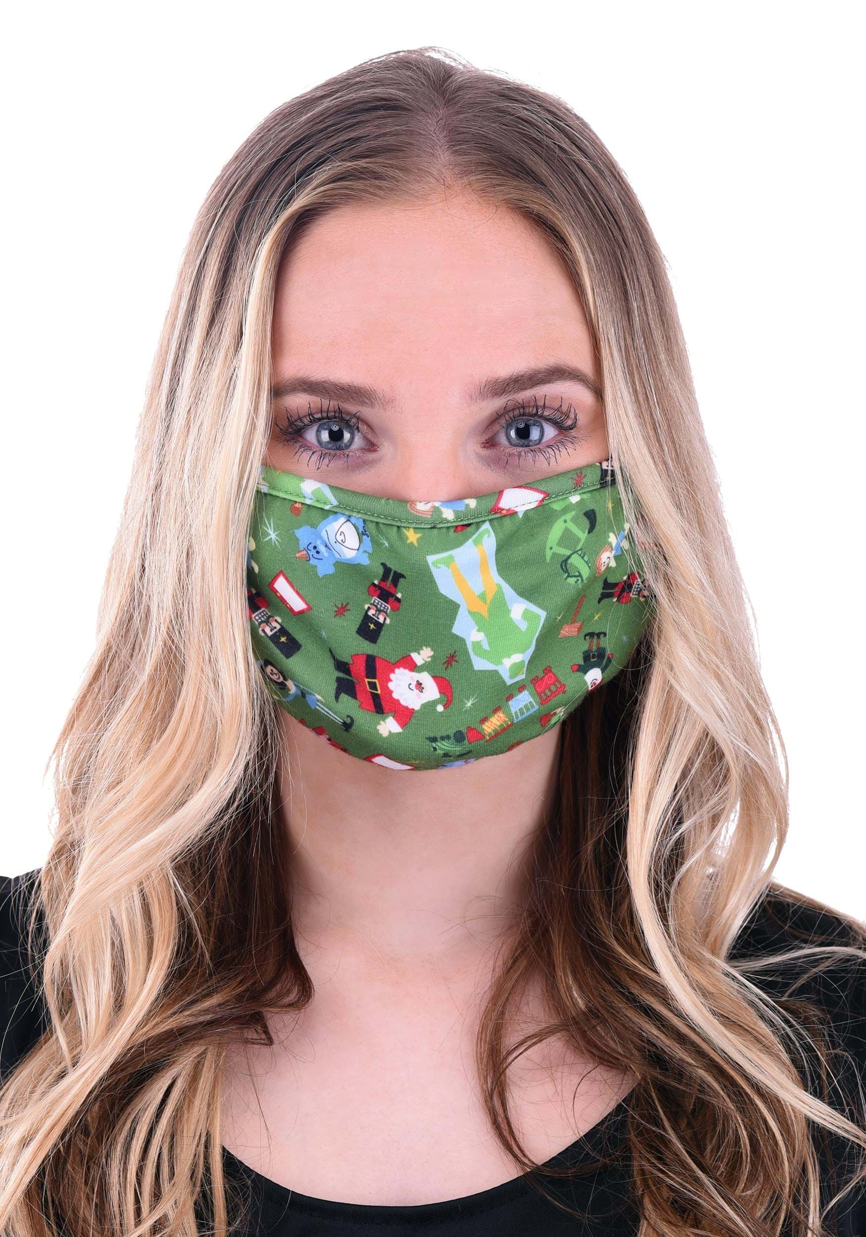 Buddy the Elf Face Mask
