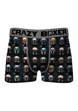 Crazy Boxer The Mandalorian Helmets AOP Mens Boxer Brief