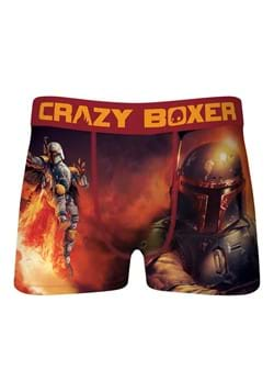 Crazy Boxer Boba Fett Boxer Briefs for Men