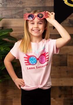 Girls Luna Lovegood Glasses Pink T-Shirt Main UPD-update