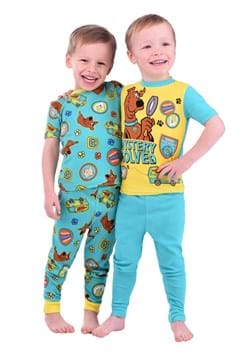 Boys Scooby Doo 4 Piece Sleep Set Update