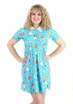 Alice Daisy Collared Dress