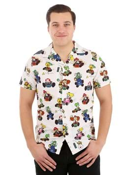 Mario Kart Camp Shirt for Adults