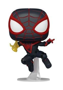 POP Games Marvels Spider Man Miles Morales Classic Suit
