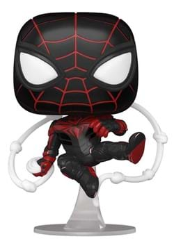 POP Games Spider Man Miles Morales Game Advanced Tech Suit