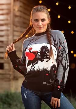 Headless Horseman Ugly Halloween Sweater Alt 1