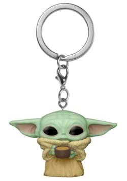 POP Keychain Star Wars The Mandalorian Child w