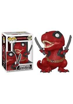POP Marvel Deadpool 30th Dinopool Figure