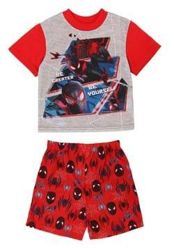 Boys Spiderman Be Great Short Sleepwear Set