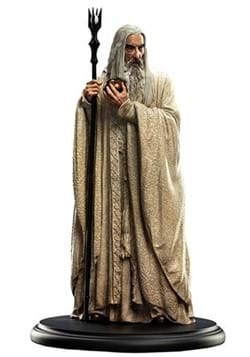 Lord of the Rings Saruman the White Miniature Statue