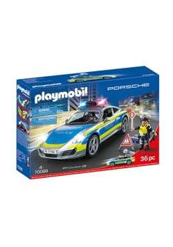 Playmobil Porsche 911 Carrera 4S Police Playset
