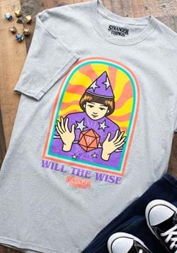 Stranger Things Will the Wise Adult T-Shirt-1