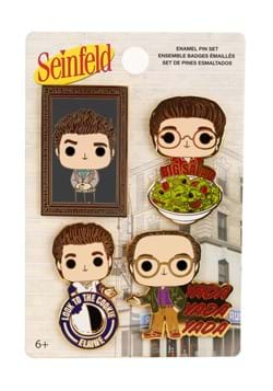 Funko Seinfeld All Character Pop 4 Pack of Pin Set
