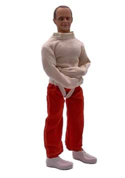 Silence of the Lambs Hannibal Straight Jacket 8 Inch Action