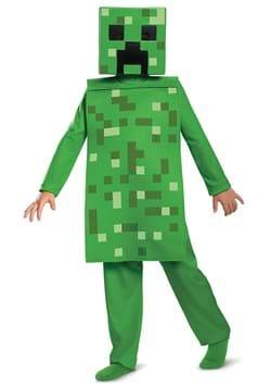 Kid's Minecraft Creeper Jumpsuit Costume