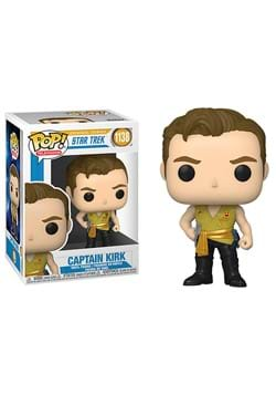 POP TV Star Trek Kirk Mirror Mirror Outfit Figure
