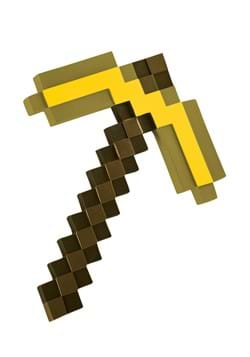 Minecraft Gold Pickaxe Accessory