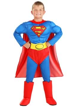 Classic Superman Deluxe Kids Costume
