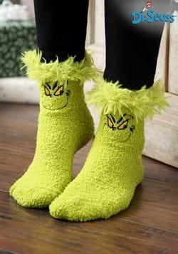 Grinch Fuzzy Socks