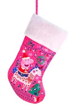 "Peppa Pig 19"" Stocking w/ Cuff"