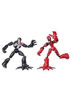 Spider-Man Bend and Flex Venom vs Carnage Action Figures