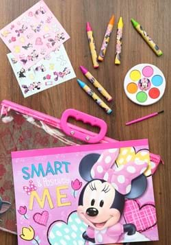Minnie Mouse 12pc Stationery in Zipper Tote Set