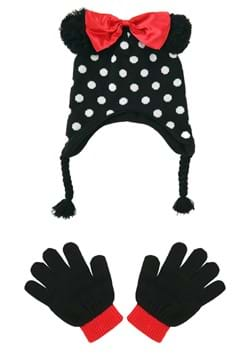 Minnie Mouse Kids Peruvian Hat and Glove Set