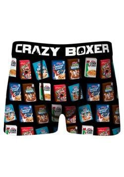 Crazy Boxers Mens Kelloggs Cereal Boxes Boxer Briefs