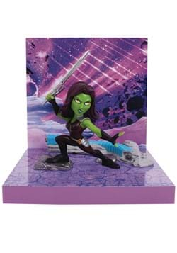 The Loyal Subjects Superama Marvel Gamora Figural Diorama
