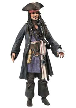 Diamond Select Pirates of the Caribbean Jack Sparrow Figure