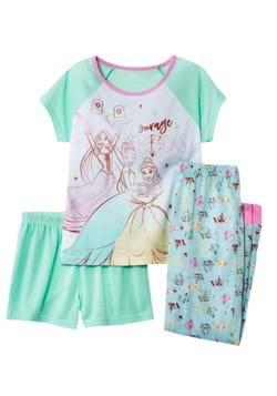 3 Pc Girls Disney Precious Princess Sleep Set-update