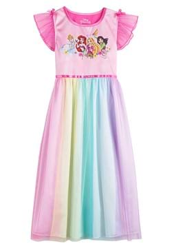 Girls Dinsey Princess Party Gown