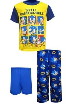 3 Piece Boys Sonic Unstoppable Sleep Set