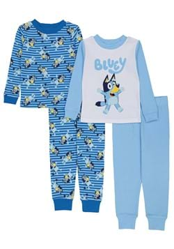 4 Pc Toddler Boys Bluey Sleep Set