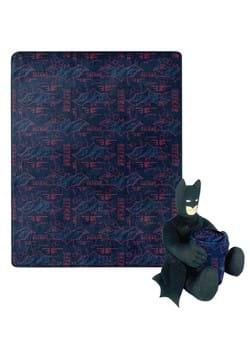 Batman Cyber Symbols Character Hugger Pillow and Throw