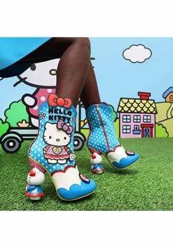 Irregular Choice Hello Kitty Playing Dress Up Boot