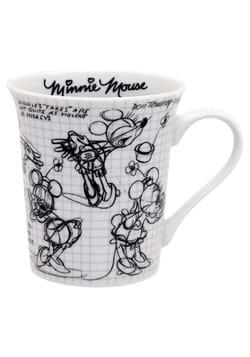 Disney Minnie 12oz Sketchbook Mug