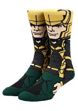 Marvel Loki 360 Character Socks