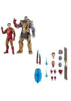 Marvel Legends Avengers Endgame Iron Man vs Thanos