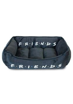 FRIENDS Black and White Dog Bed